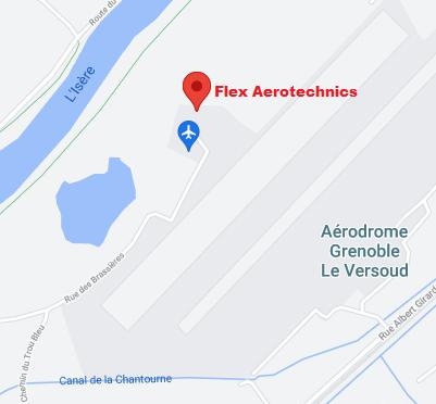 emplacement Flex-Aerotechnics Grenoble Le Versoud